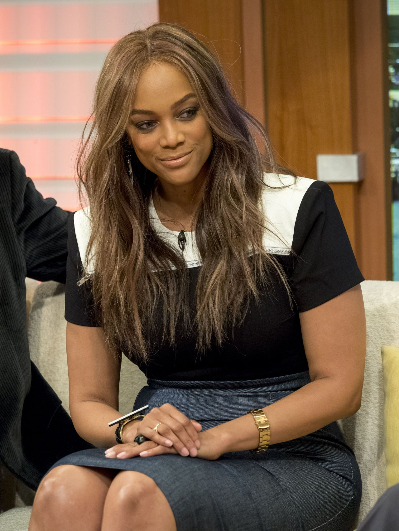 Tyra Banks is a good role model