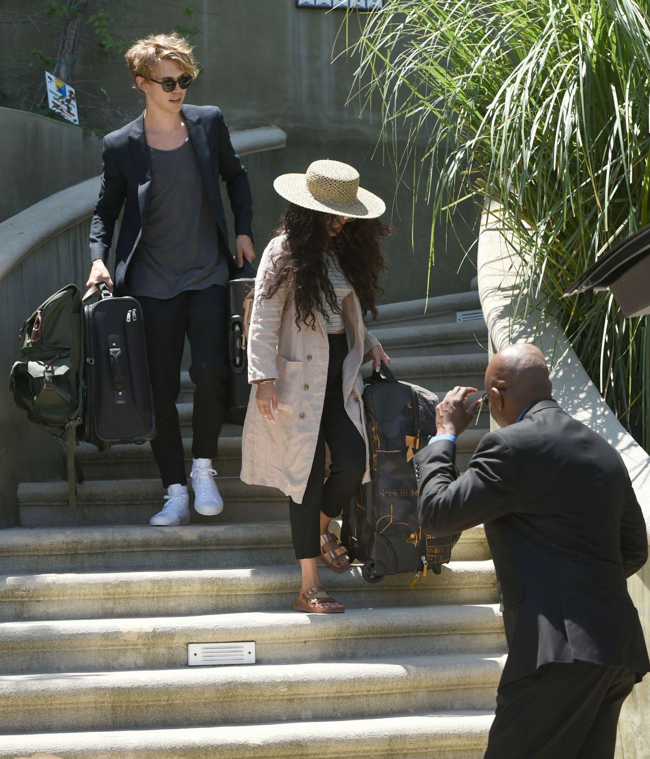 Vanessa Hudgens - Leaving Her House in Los Angeles 6/16/2016