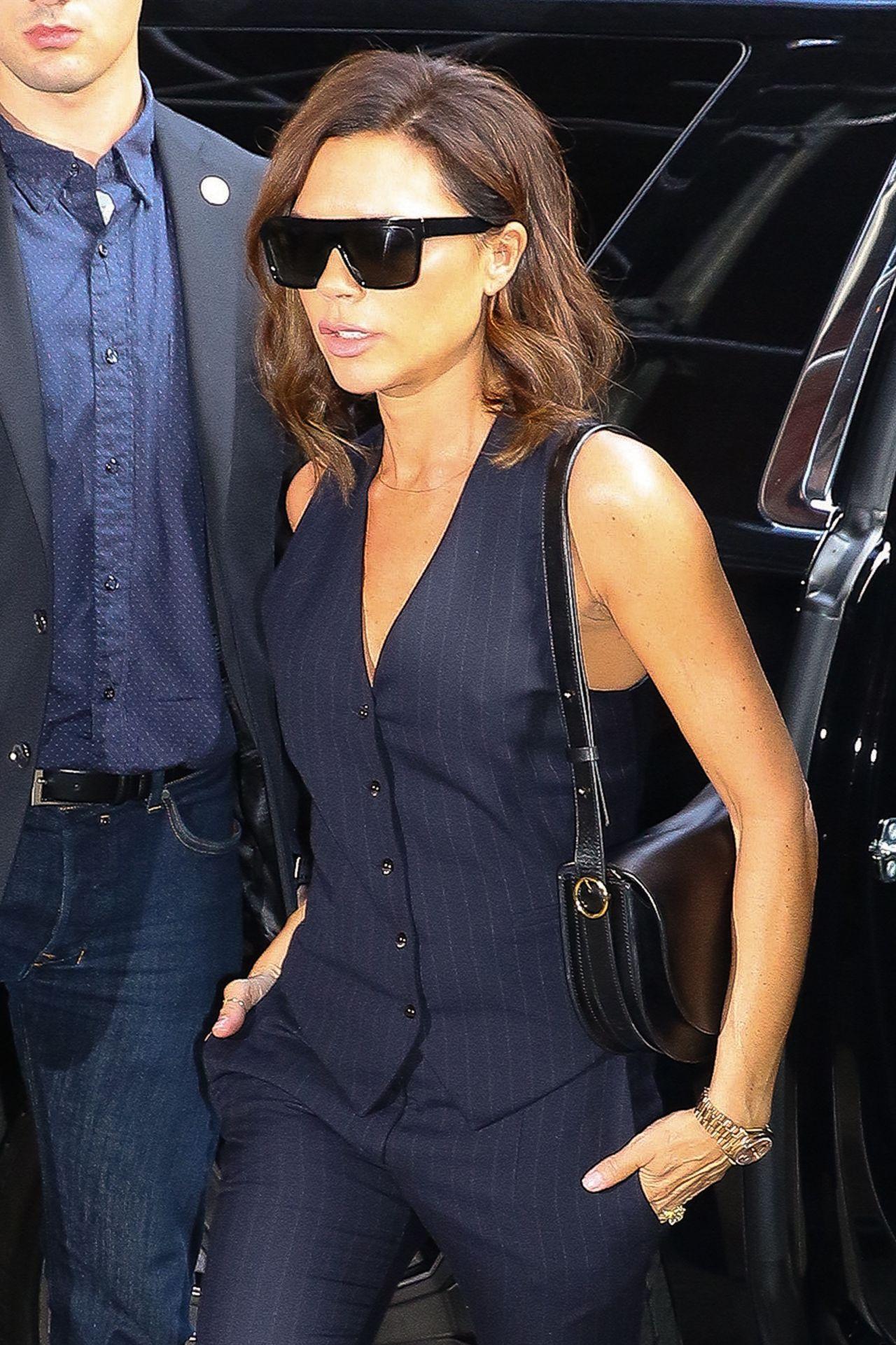 Cool Victoria Beckham Recent Hairstyle Victoria Get Free Printable Short Hairstyles Gunalazisus