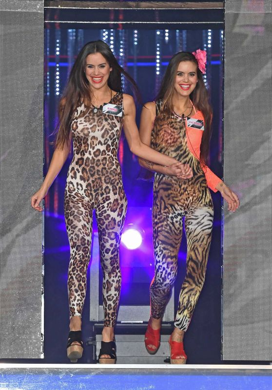 Victoria Jensen & Emma Jensen - Big Brother Launch Night at Elstree TV Studios, June 2016