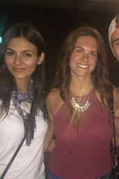 Victoria Justice - Social Media Pics 6/26/2016