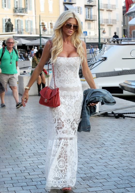 Victoria Silvstedt - Saint Tropez in France 6/20/2016