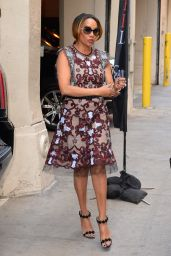 Vivica A. Fox - Arrives at AOL to Promote