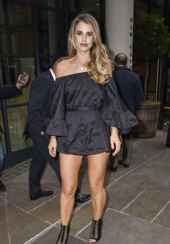 Vogue Williams at the Roof Top Charity Party in London, May 2016