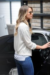Vogue Williams Casual Style - at The ITV Studios in London 6/21/2016