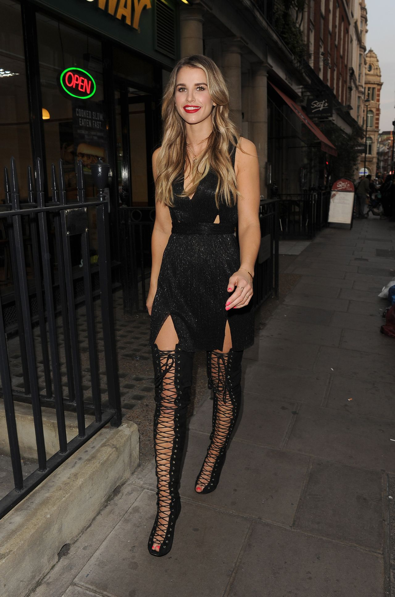Vogue Williams Night Out Style Soho In London May 2016