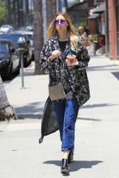 Whitney Port Casual Style - at Go-Greek in Beverly Hills 6/6/2016