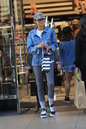 Zendaya Coleman Urban Outfit - Shopping in LA 6/7/2016