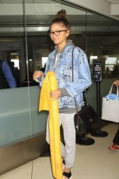 Zendaya - LAX Airport in Los Angeles 6/2/2016