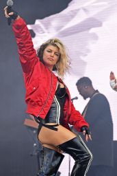 Fergie Performing on Wireless Festival 2016 in London
