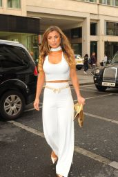 Abigail Clarke – White Party Cocktail Gala in London 7/2/2016