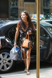 Adriana Lima Casual Style - New York City, 07/19/2016