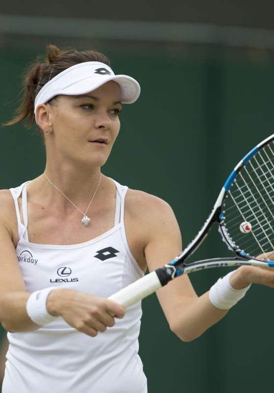 Agnieszka Radwanska – Wimbledon Tennis Championships in London – 4th Round