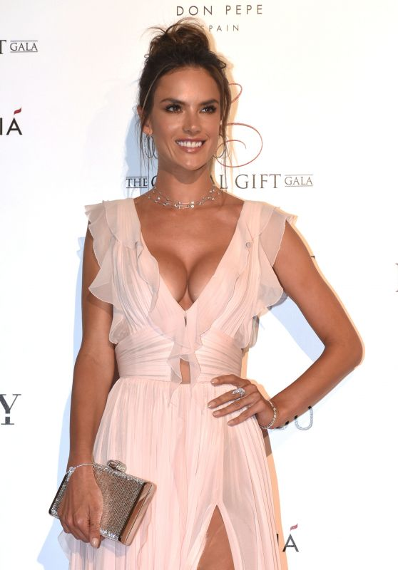 Alessandra Ambrosio - Global Gift Gala in Marbella, Spain 7/17/2016
