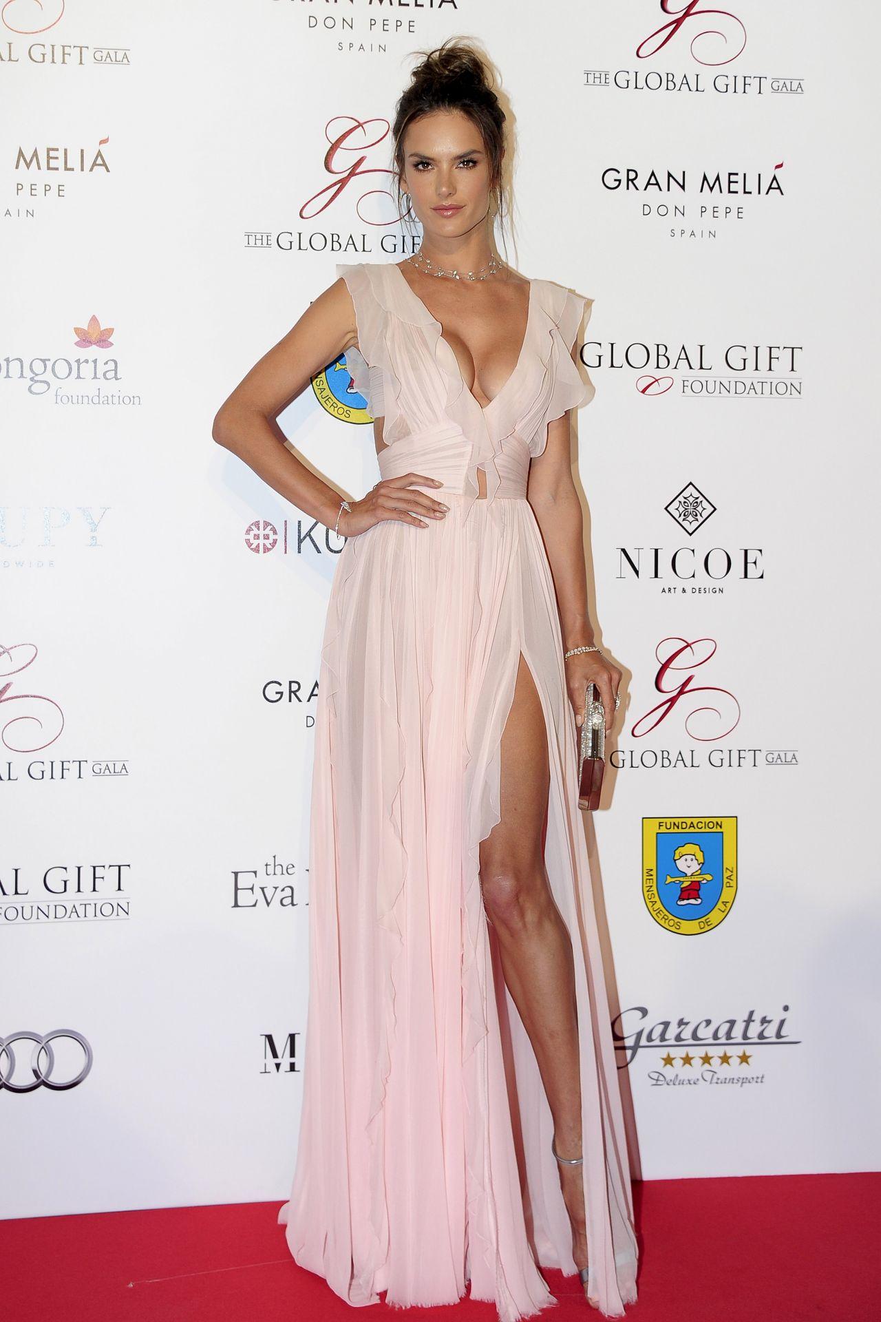 Alessandra Ambrosio Global Gift Gala In Marbella Spain