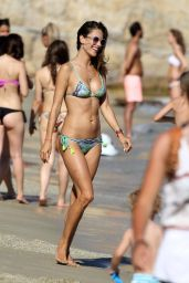 Alessandra Ambrosio in Bikini on Mykonos, Greece 7/13/2016