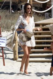 Alessandra Ambrosio - Out in Formentera, Spain 7/3/2016