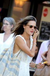 Alessandra Ambrosio Summer Street Style - Saint-Tropez, France, July 2016