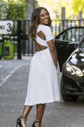 Alexandra Burke - Leaving the ITV Studios London 7/19/2016