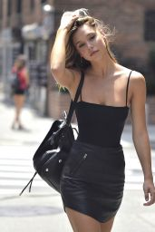 Alexis Ren - Out in New York City 7/15/2016