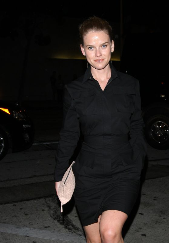 Alice Eve Night Out Style - Craig