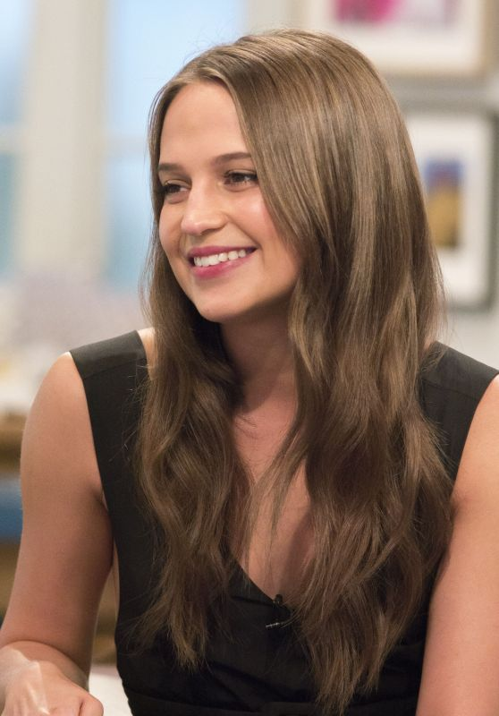 Alicia Vikander Appeared on