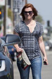 Alyson Hannigan - Out in Los Angeles 7/29/2016