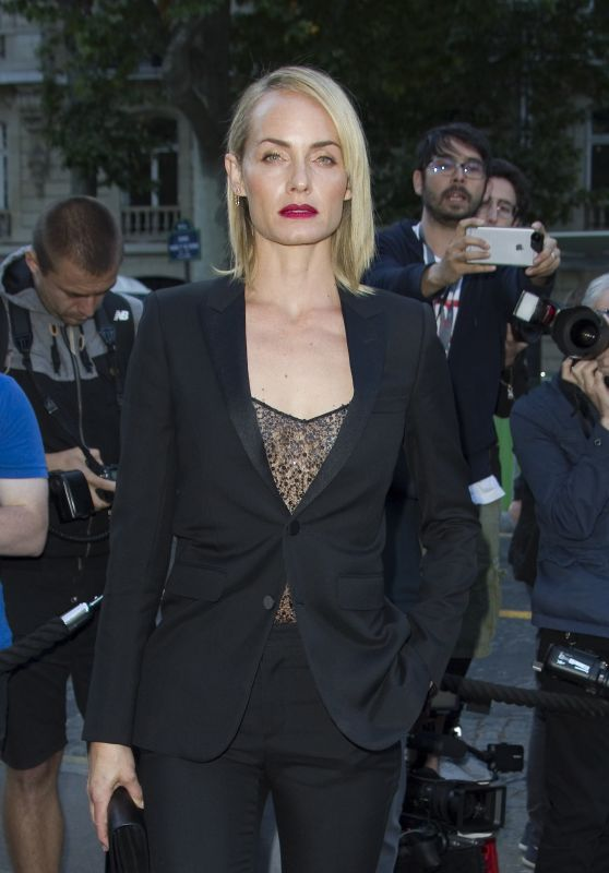 Amber Valletta at Vogue Party in Paris, July 2016