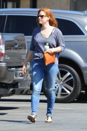 Amy Adams Booty in Jeans - Los Angeles, 07/07/2016