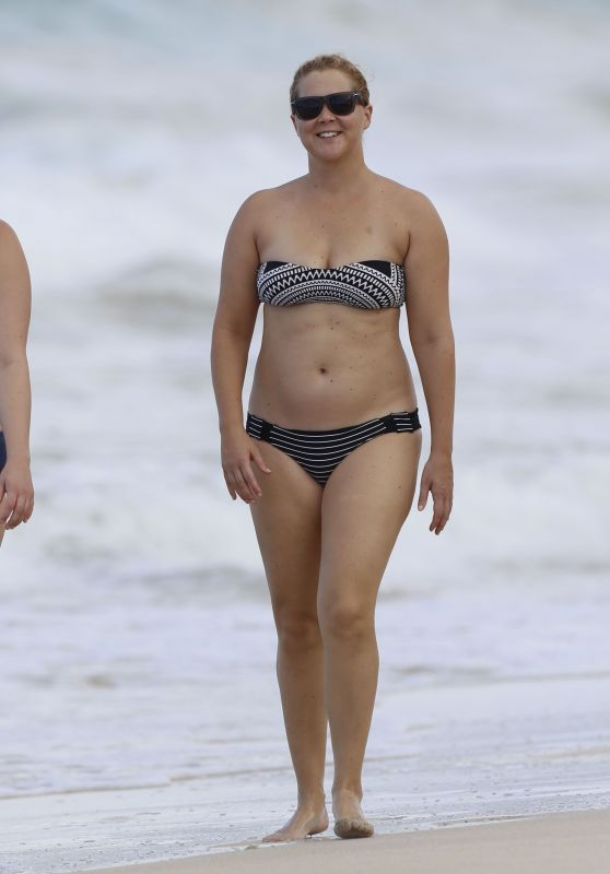 Amy Schumer in a Bikini at a Beach in Hawaii 7/16/2016