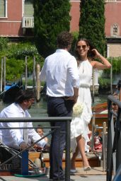 Ana Ivanovic - Getting Married to Bastian Schweinsteiger at Venice City Hall, Italy 07/12/2016