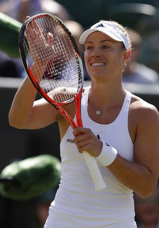 Angelique Kerber – Wimbledon Tennis Championships in London – 3rd Round