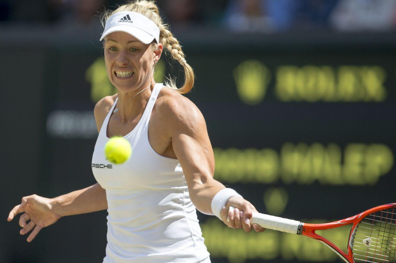 Angelique Kerber Wimbledon Tennis Championships In