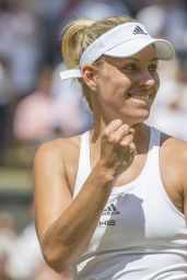 Angelique Kerber - Wimbledon Tennis Championships in London - Quarterfinals