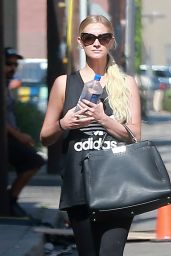 Ashlee Simpson - Hitting the Gym in Studio City 7/18/2016