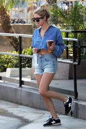 Ashley Benson - Out in Los Angeles 7/1/2016