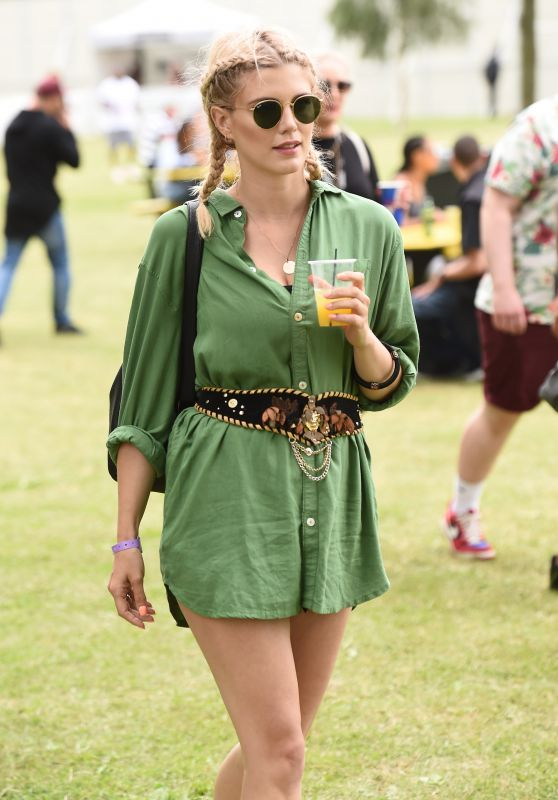 Ashley James – Wireless Festival at Finsbury Park in London, UK 7/9/2016