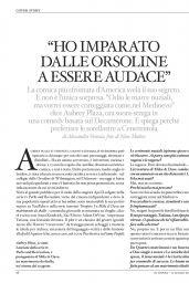 Aubrey Plaza - Io Donna del Corriere della Sera June 2016 Issue