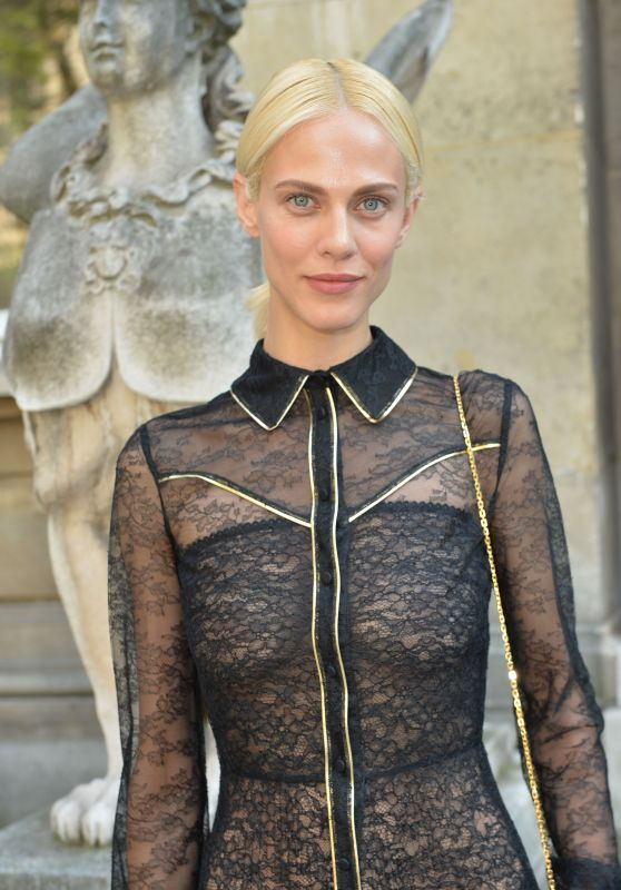 Aymeline Valade at Valentino Fashion Show - Paris Fashion Week 7/6/2016
