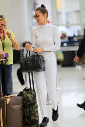 Bella Hadid at JFK Airport in NYC 7/1/2016