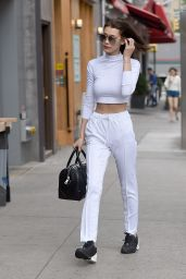 Bella Hadid Casual Outfit - NYC 7/1/2016