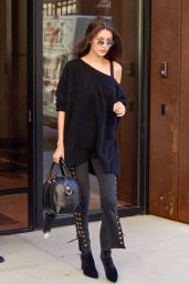 Bella Hadid - Leaving Gigi