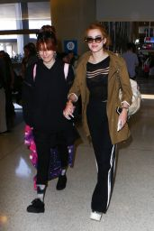 Bella Thorne Travel Outfit - LAX Airport, July 6 2016