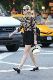 Beth Behrs - Out in NYC 6/30/2016