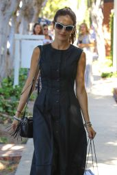 Camilla Belle Casual Style - Shopping in Los Angeles, 07/19/2016