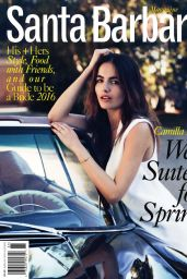 Camilla Belle - Santa Barbara Magazine July 2016 Issue