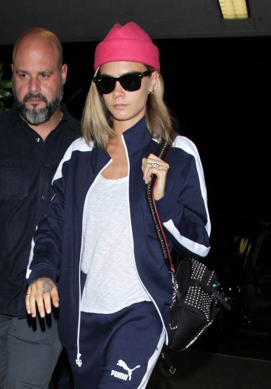 Cara Delevingne at LAX AIrport 7/28/2016