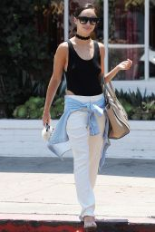 Cara Santana Street Style - Los Angeles 7/28/2016