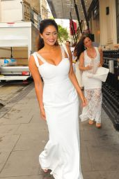 Casey Batchelor – White Party Cocktail Gala in London 7/2/2016