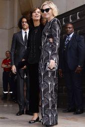 Cate Blanchett - Armani Show in Paris, 07/05/2016